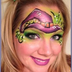 Childrens Witch Face Painting Ideas