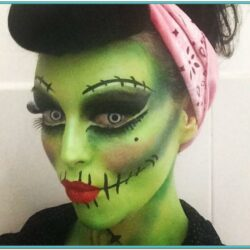 Childrens Zombie Face Paint Ideas