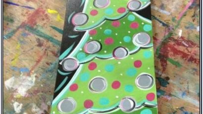 Christmas Canvas Paint Ideas