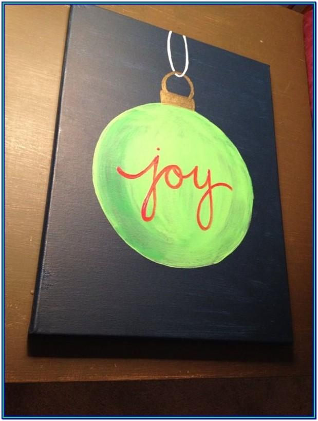 Christmas Painting Ideas Easy