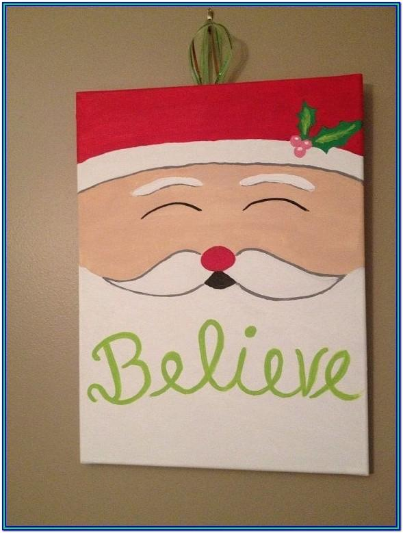 Christmas Painting Ideas For Beginners