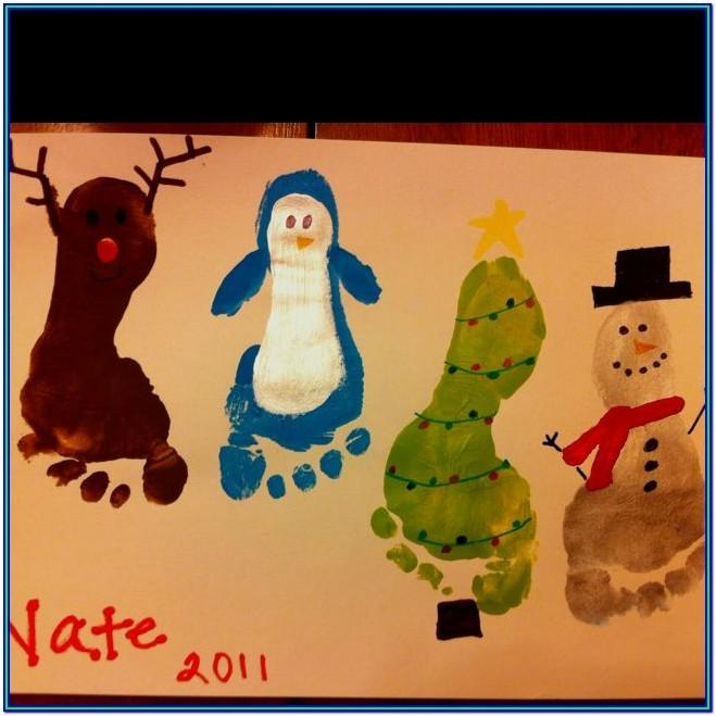 Christmas Painting Ideas For Preschoolers