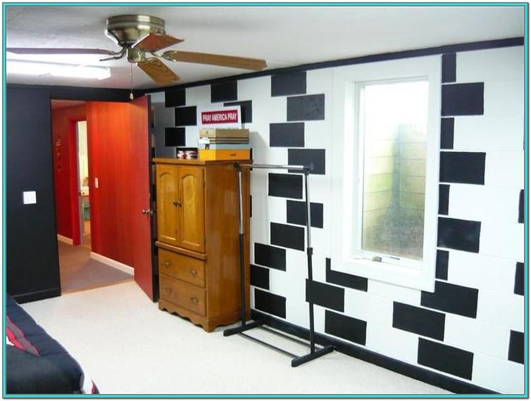 Cinder Block Basement Wall Painting Ideas