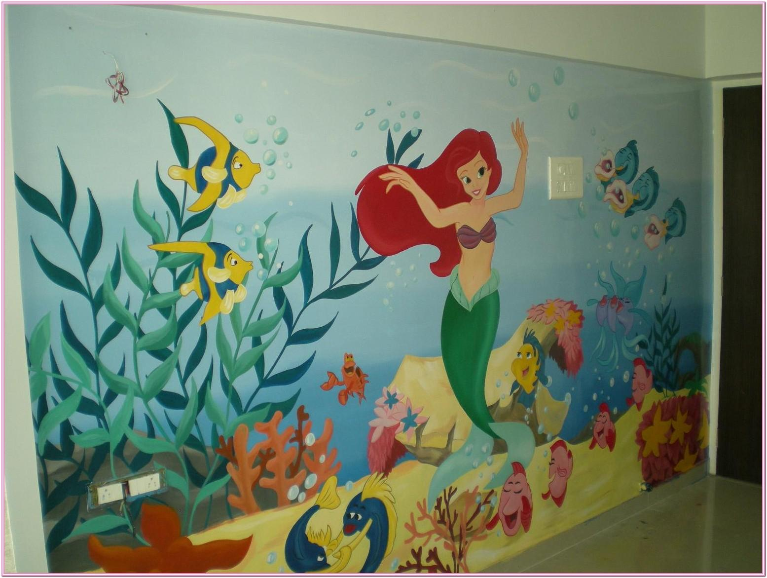 Class Wall Painting Ideas
