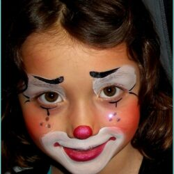 Clown Face Paint Pinterest