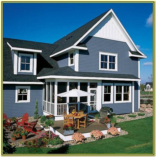 Coastal Blue Exterior Paint Colors