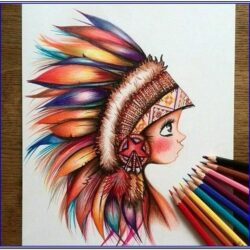 Color Pencil Painting Ideas