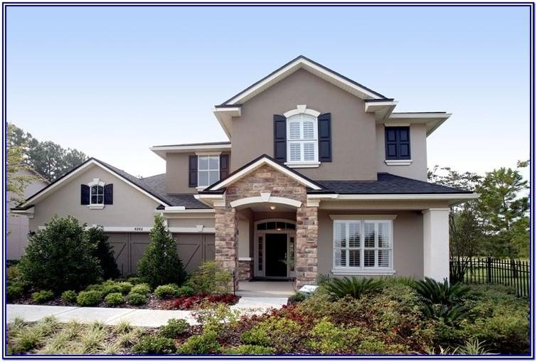 colour ideas for exterior house painting uk