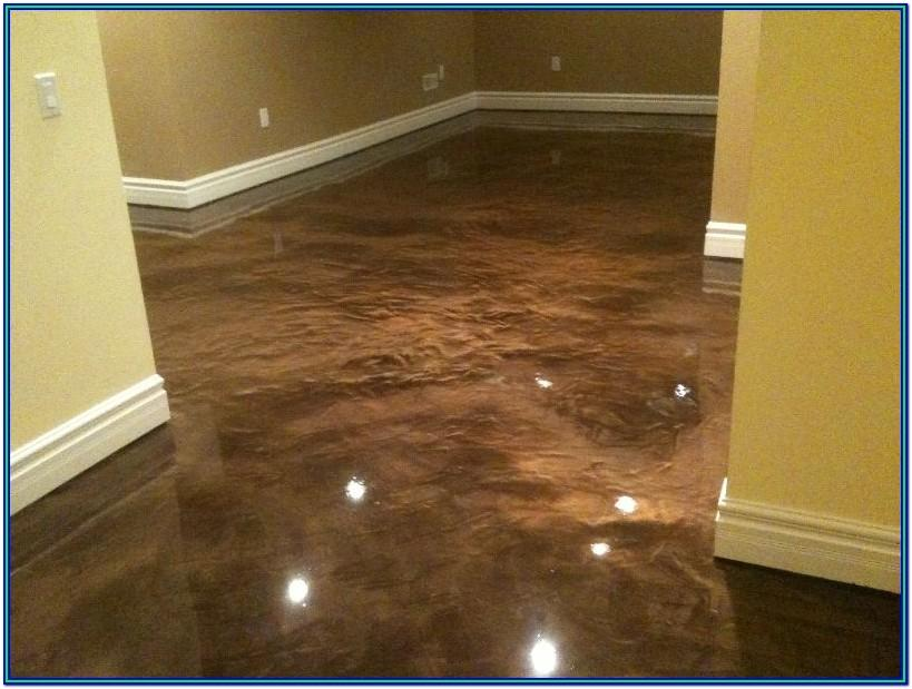 Concrete Floor Coating Ideas