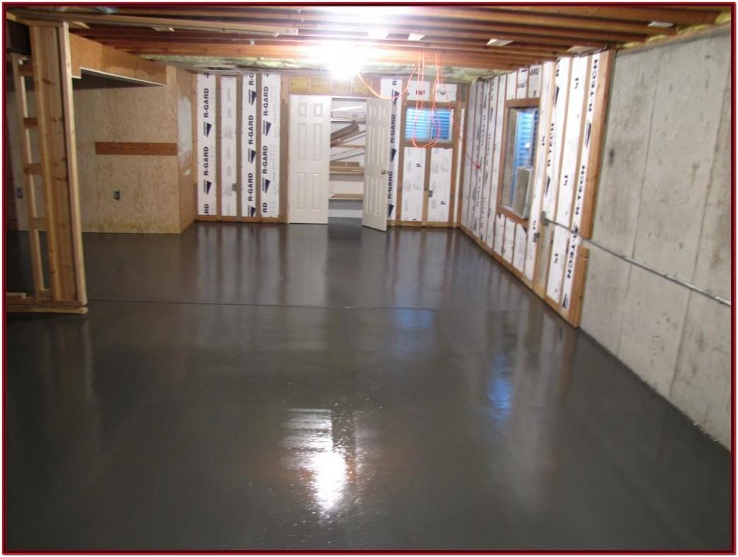 Concrete Paint Ideas For Basement