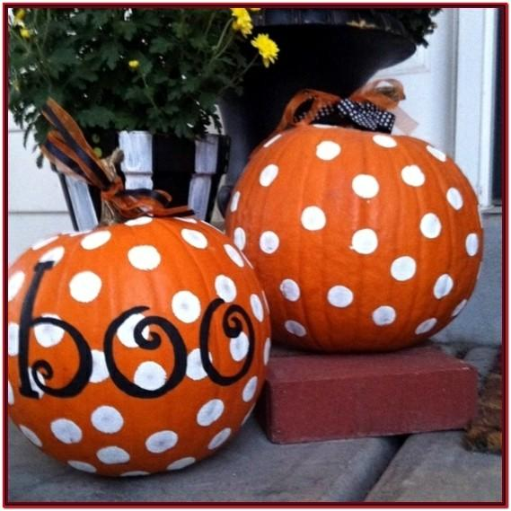 Cool Pumpkin Painting Ideas Easy