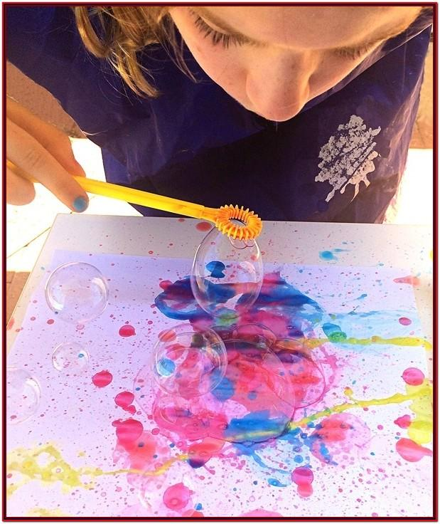 creative painting ideas for toddlers