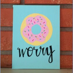 Cute Easy Painting Ideas For Canvas