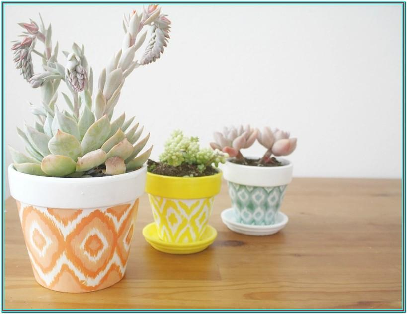 Decorating Ideas Painting Clay Pots