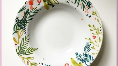 Design Ideas For Painting Plates