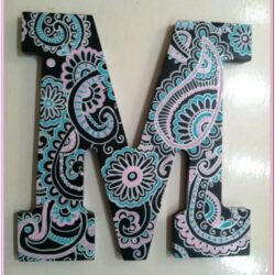 Design Ideas For Painting Wooden Letters