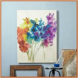 Diy Abstract Canvas Painting Ideas