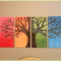 Diy Small Canvas Painting Ideas