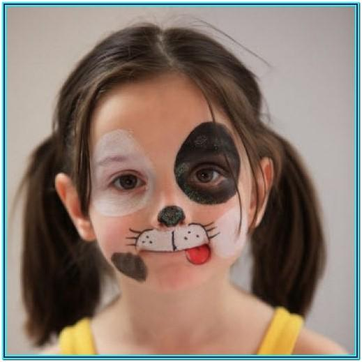 Dog Face Painting Ideas