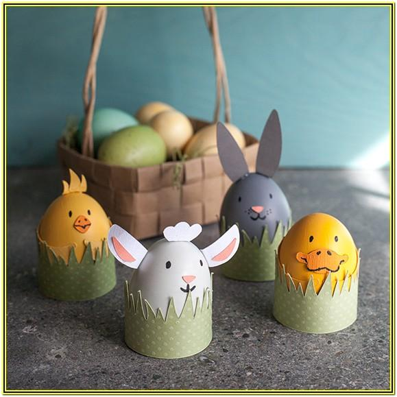 Easter Egg Animal Decoration Ideas