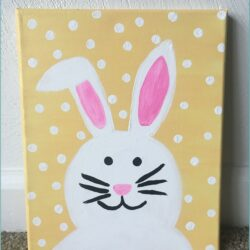 Easter Painting Ideas On Canvas
