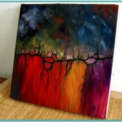 Easy Abstract Oil Painting Ideas