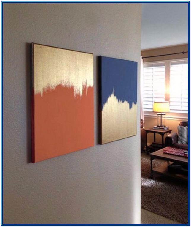 Easy Canvas Painting Ideas For Bedroom