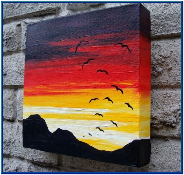 Easy Canvas Painting Ideas Free