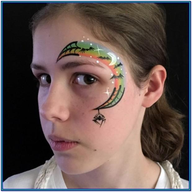 Easy Face Paint Ideas Step By Step
