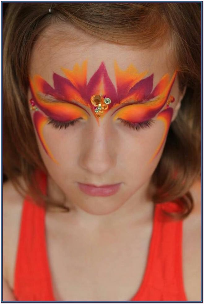 Easy Fairy Face Paint Ideas