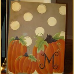Easy Fall Canvas Painting Ideas