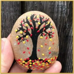 Easy Fall Rock Painting Ideas