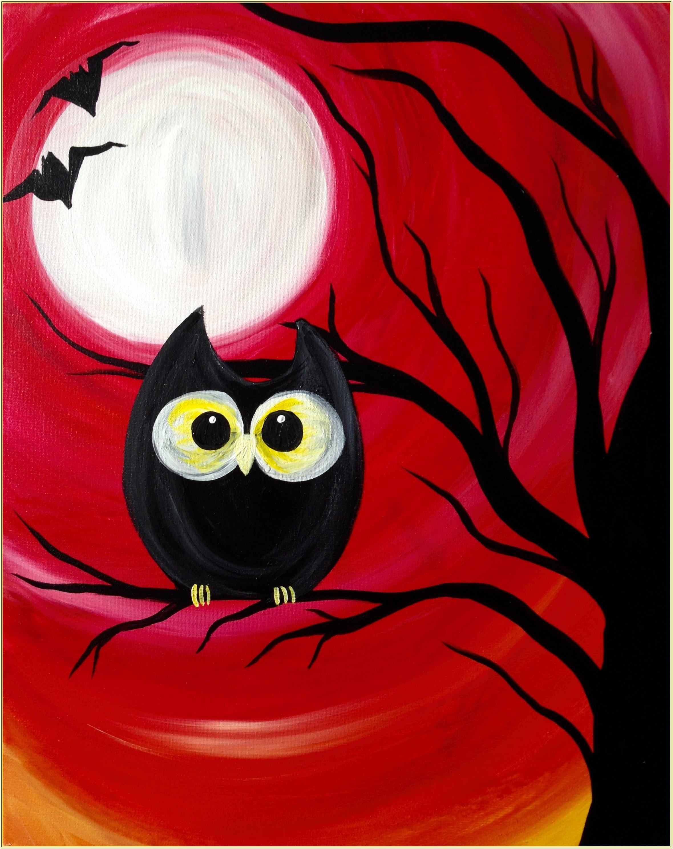 Easy Halloween Paint Night Ideas