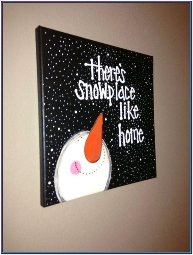 Easy Holiday Painting Ideas