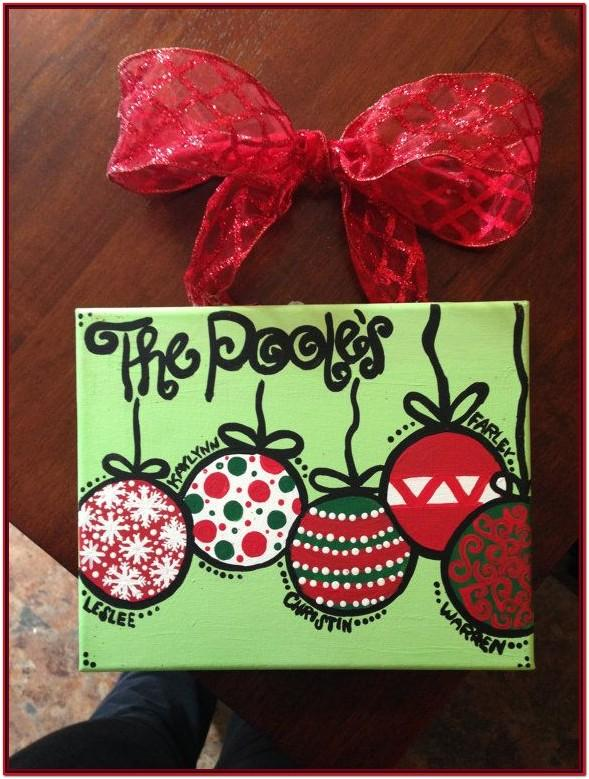 Easy Ornament Painting Ideas