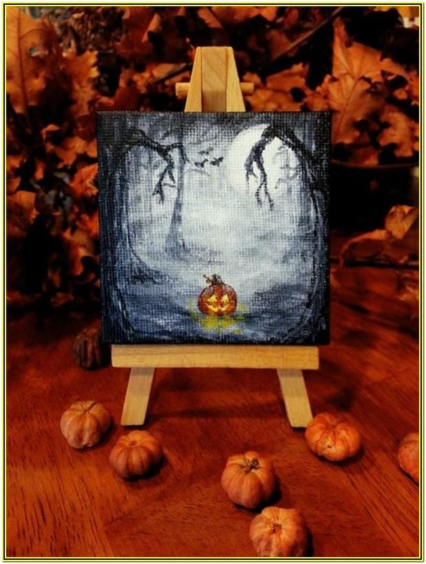 Easy Paint Night Picture Ideas