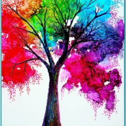 Easy Rainbow Painting Ideas