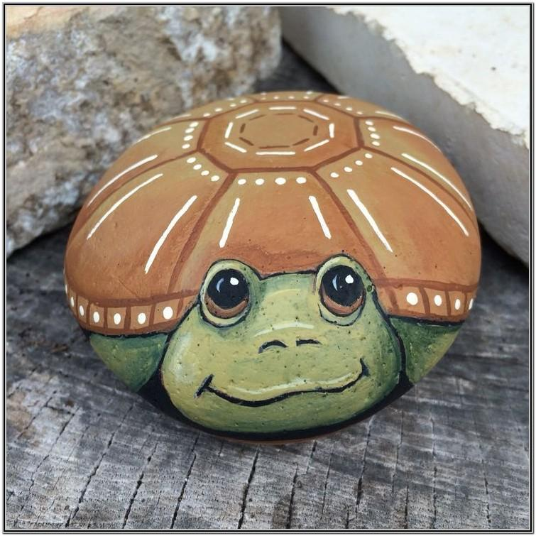 Easy Rock Painting Ideas Animals