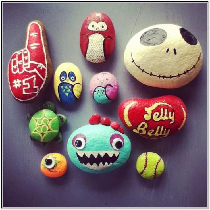 Easy Rock Painting Ideas Step By Step