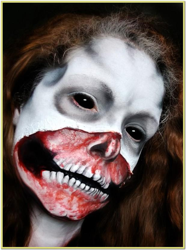 Easy Scary Face Paint Ideas For Halloween