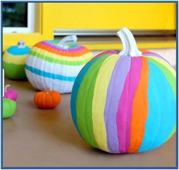 Easy Small Pumpkin Painting Ideas