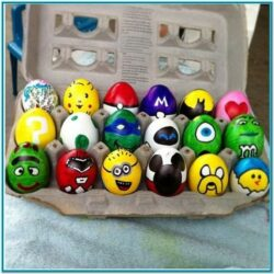 Egg Painting Ideas Minion