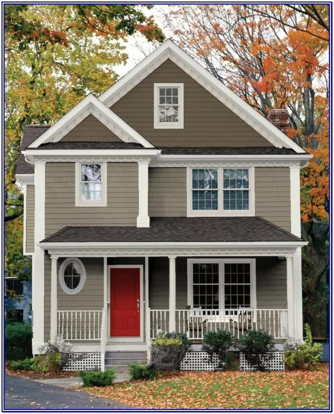 Exterior Color Scheme For House