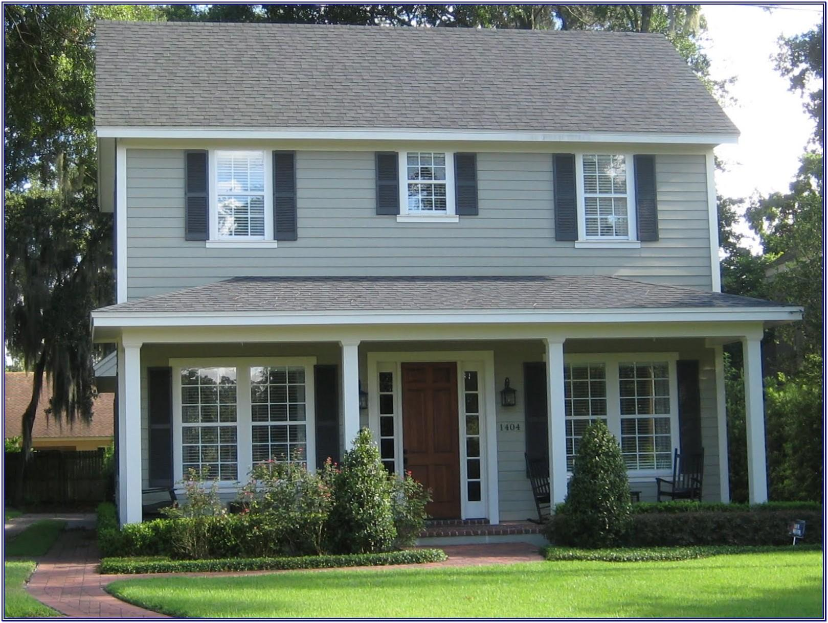 Exterior Color Schemes For Houses With Brick