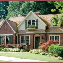 Exterior Color Schemes For Red Brick Houses 1