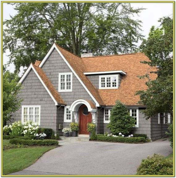 Exterior Colors For Homes With Brown Roofs