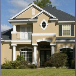 Exterior Colour Combination For Indian Homes