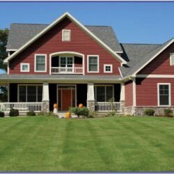 Exterior Colour Schemes For Red Brick Houses