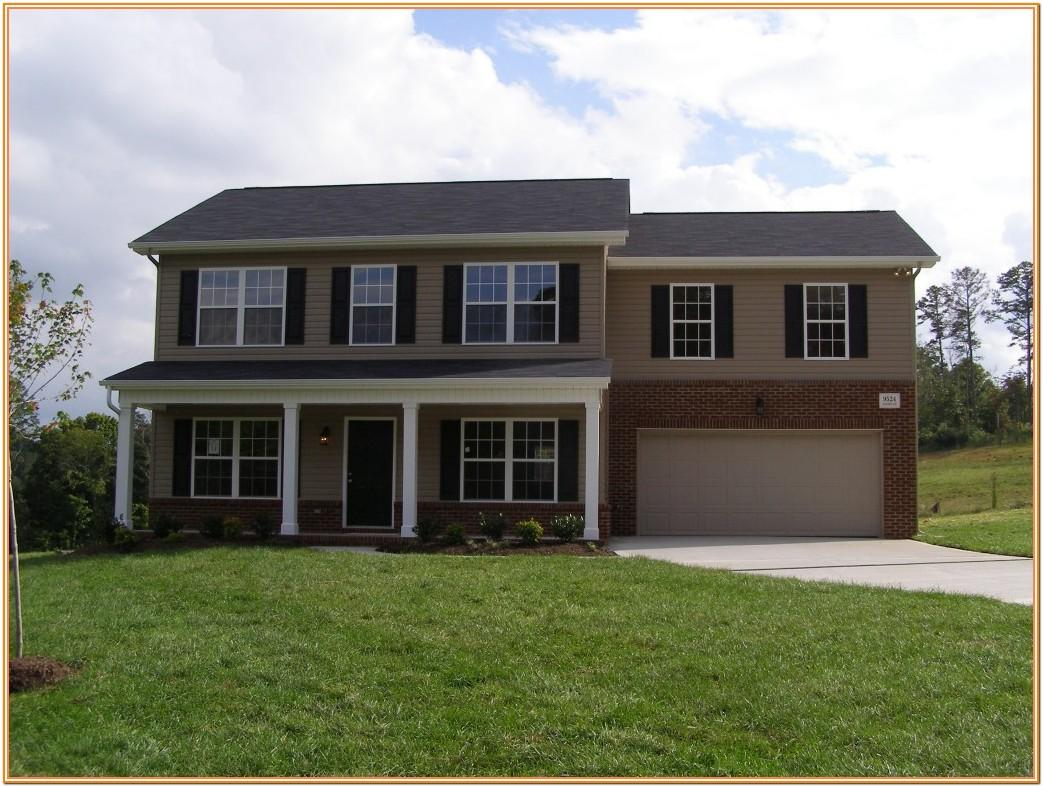 Exterior Home Color Schemes With Brick