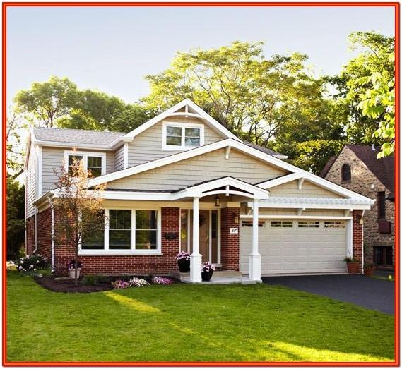 Exterior Home Colors With Red Brick